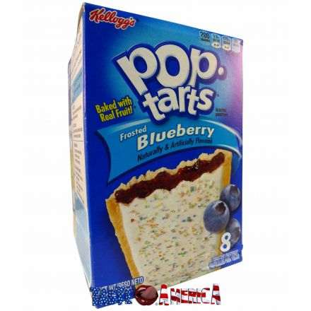 Pop Tarts Frosted Blueberry Toaster Pastries 8 CT 416g