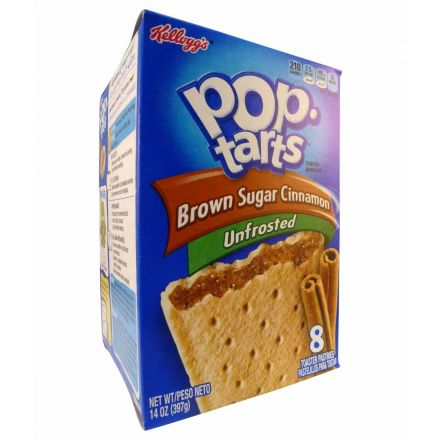 Pop Tarts Brown Sugar Cinnamon Unfrosted Toaster Pastries 8ct 397g