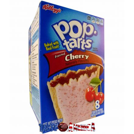 Pop Tarts Frosted Cherry Toaster Pastries 8ct 416g