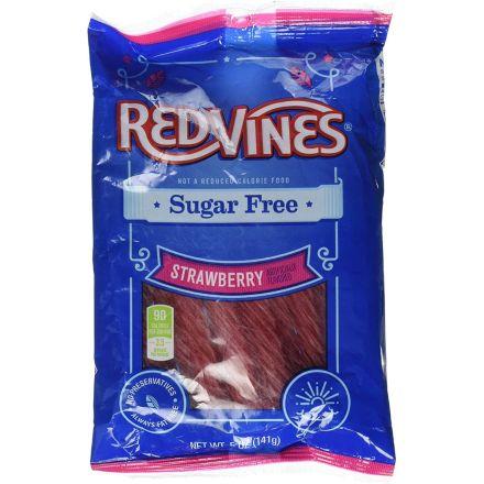 Red Vines Sugar Free Strawberry Twists 142g Bag