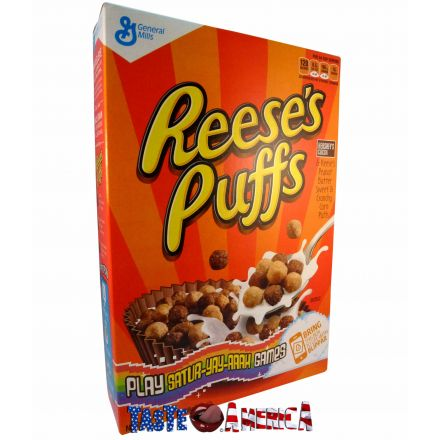 General Mills Reeses Puffs Peanut Butter & Cruncy Corn Cereal 368g