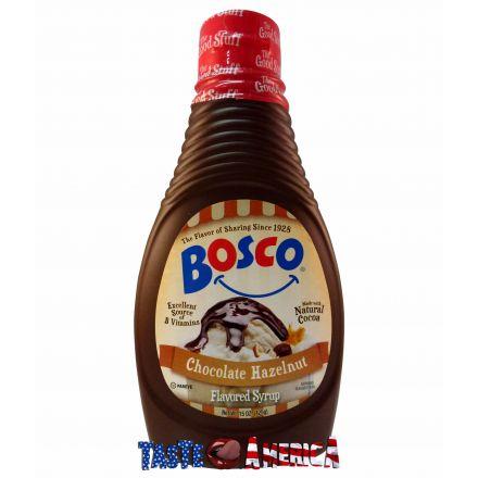 Bosco Chocolate Hazelnut Flavoured Syrup 425g Bottle