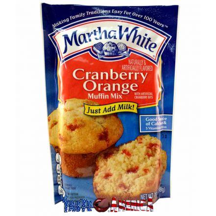 Martha White Cranberry Orange Muffin Mix 198g