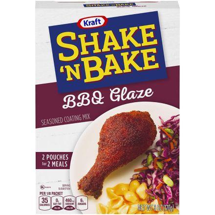 Shake N Bake BBQ Glaze Seasoned Coating Mix 170g