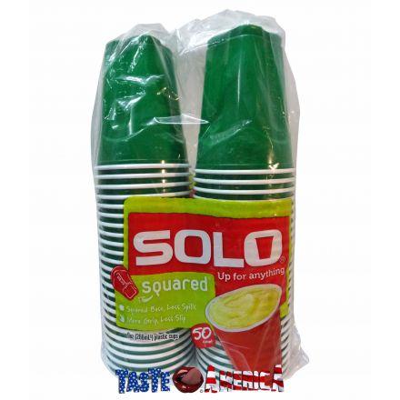 Solo Squared Plastic Cups 9 oz - 50 cups