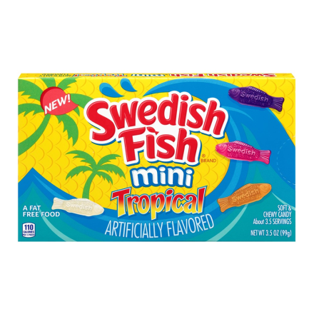 Swedish Fish Mini Tropical Flavours Candy