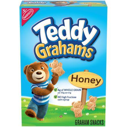 Teddy Grahams Honey Flavoured Graham Snacks 283g