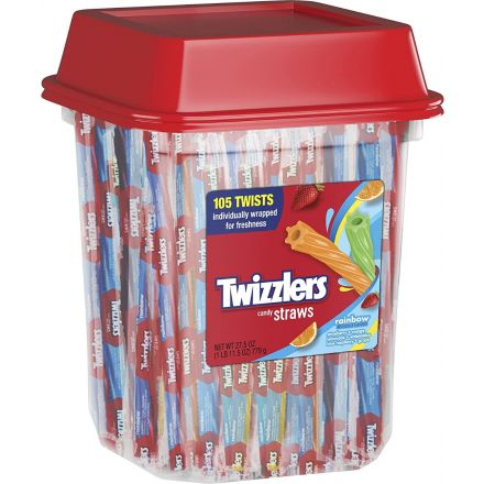 Twizzler Twists Rainbow Candy Straws