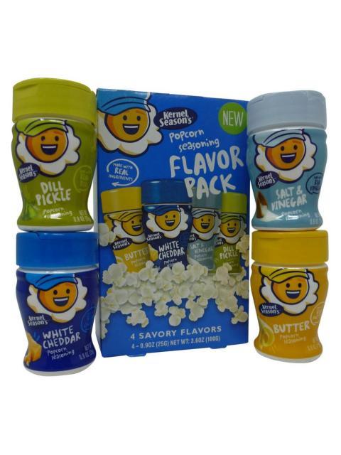 Kernel Seasons Popcorn Seasoning Savory Flavour 4 Pack Taste America