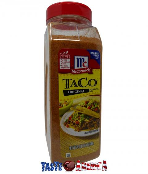 Mccormick Mexican Taco Seasoning Catering Size Taste America