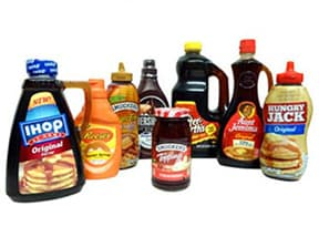 SYRUPS - TOPPINGS